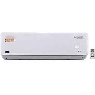 Carrier Superia Plus K+ 1.5 Ton 4 Star Inverter Split AC(White)