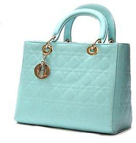 Abbme Textured Green Hand Bag.