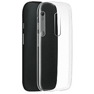 Snaptic Soft Transparent Back Cover for Micromax Canvas Sliver 5 Q450