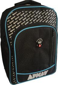 Apnav Black-Blue Kids School Bag