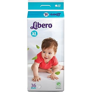 Libero - Baby Open Diaper XL ( 36 Pieces)