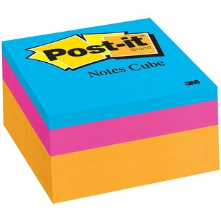 Post-it Notes Cube - 3 x 3 Inches, Ultra Collection