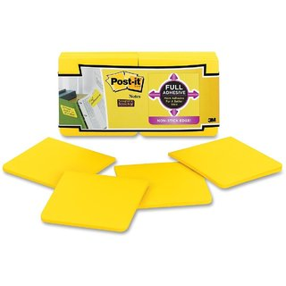 Post-it Super Sticky Full Adhesive Notes-3 x 3 Inches