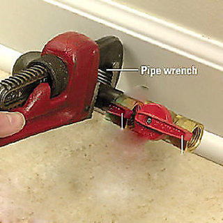 PIPE WRENCH DJUSTABLE WRENCH PLUMBING HEAVY DUTY 10PIPE