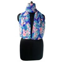 Anuze Fashions New Design Floral Print Scarf For Womens And Girls