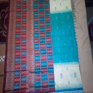Sambalpuri Handloom High class executive pure silk Bomkai saree Of Dancer pics