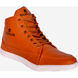 Sukun Beige Casual Shoes For Men (SKU900BEIGH)