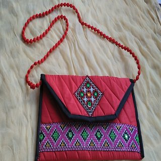Kutchi Embroidered Handbag