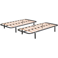 Camabeds Two Single Slatted Bed In A Price Of One