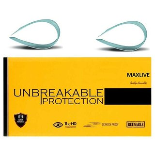 Unbreakble Tempered Glass For  Samsung Galaxy Note 4 (Pack of 2)