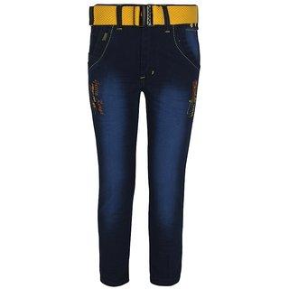 Jazzup Men Regular Fit Blue Jeans