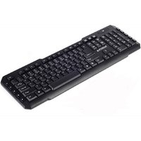 Prodot KB-207S Wired USB Standard Keyboard (Black) (BLACK)