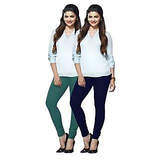 Lux Lyra Multicolored Pack of 2 Cotton Leggings LyraIC29100FS2PC