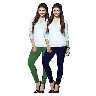 Lux Lyra Multicolored Pack of 2 Cotton Leggings LyraIC51100FS2PC