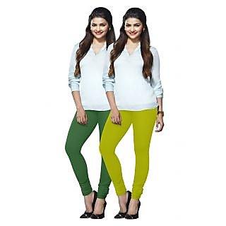 Lux Lyra Multicolored Pack of 2 Cotton Leggings LyraIC5190FS2PC