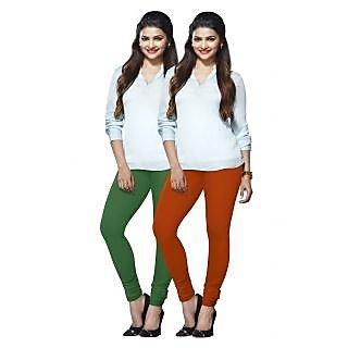 Lux Lyra Multicolored Pack of 2 Cotton Leggings LyraIC5191FS2PC