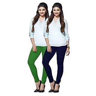 Lux Lyra Multicolored Pack of 2 Cotton Leggings LyraIC92100FS2PC