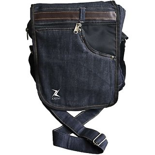 Xhins Men, Boys Blue Denim Sling Bag: Buy Xhins Men, Boys Blue ...