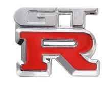 Nissan GTR Grand Touring Racing 3D METAL Sports Car Logo Decal Emblem Sticker
