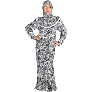 Hawai Attractive Floral Printed Burqa