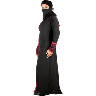 Hawai Stylish Self Designer Burqa For Women