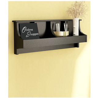 Onlineshoppee Wooden Wall Decor Wall Shelf Rack/Bracket Size (LxBxH-20x5x10) inc