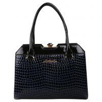My Mini Mee Synthetic Leather Handbag (Color-Black/Purp