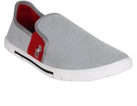 Armado Footwear Mens Grey Slip On Casual Shoes