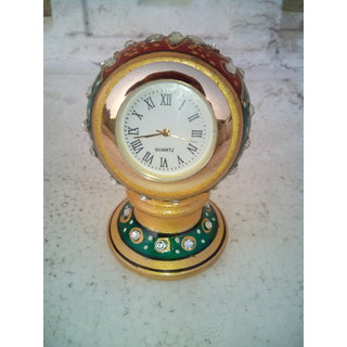 Miniature Clock made in pure Marble