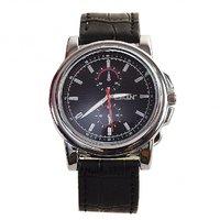 SKIN Black Circular Dial Analog Watch