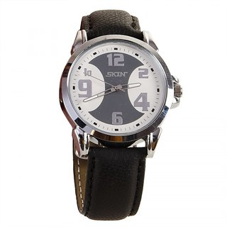 SKIN White/Grey Dial Analog Watch