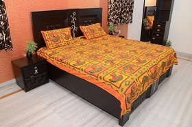 Enviro Cotton Printed Double Bedsheet