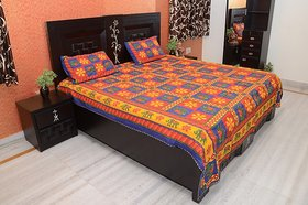 Enviro Cotton Printed Double bedsheeet