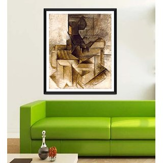 Tallenge Modern Masters Collection - The Rower By Pablo Picasso - Framed Art Print