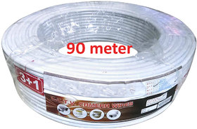 CCTV Wire Roll(3+1) Copper (90 Meters)