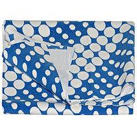 Waterproof Baby Sleeping Dry Sheet- (Printed Blue Large)