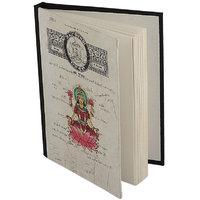 Printed Hard Bound Handmade Paper Journal Diary  (Option 25)