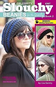 Celebrity Knit Slouchy Beanies for the Family, Book 2 (English)