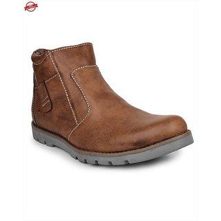 Pede Milan Men's Brown Lace-Up Casual Shoes