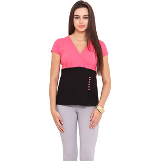 Hitobito Women Pink Top