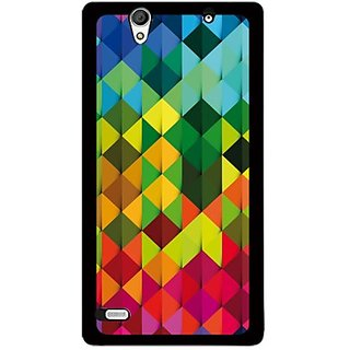 Buy Furnishfantasy Back Cover For Sony Xperia C4 (Multicolor) FBS-879 Online - Get 70% Off