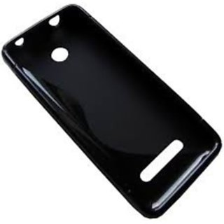 save off cf0f3 ee5b5 S Design Back Cover for Nokia Asha 206 (Black)