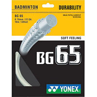 Yonex BG 65 0.78mm Badminton String (Assorted)