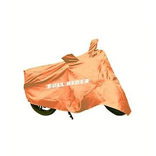 Bull Rider Two Wheeler Cover for Bajaj Discover 100 with Free Microfiber Gloves