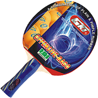 GKI Offensive Rago Table Tennis Bat in Foam cover