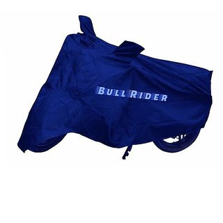 BullRider India Two wheeler cover with mirror pocket Perfect fit for Yamaha YBR 125