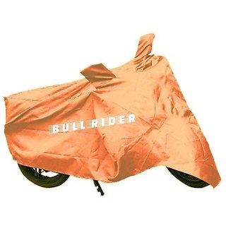 BullRider India Bike body cover with mirror pocket Dustproof for Bajaj Platina