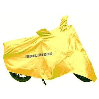 DealsinTrend Two wheeler cover without mirror pocket Water resistant for Yamaha YBR 110