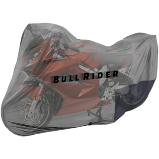 BRB Two wheeler cover without mirror pocket Custom made for Suzuki Hayate