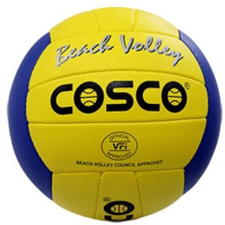 COSCO BEACH VOLLEY BALL (SIZE-4)- Assorted